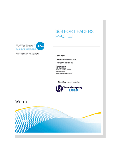 Everything DiSC 363 for Leaders Profile