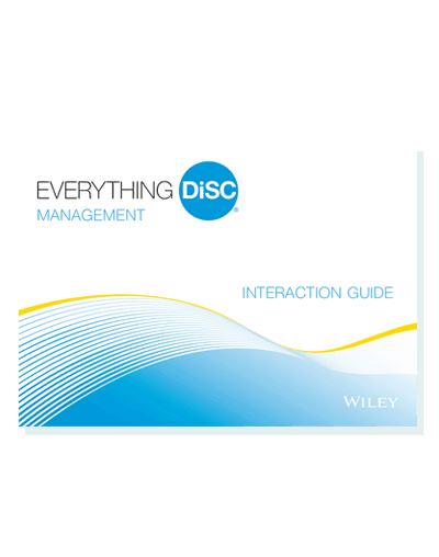 Everything DiSC Management Interaction Guides