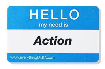 EverythingDiSC-ACTION Name Tag
