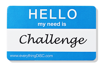 EverythingDiSC-CHALLENGE Name Tag