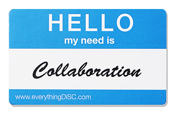 EverythingDiSC-COLLABORATION Name Tag
