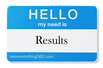 EverythingDiSC-RESULTS Name Tag