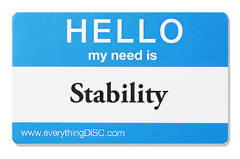 EverythingDiSC-STABILITY Name Tag
