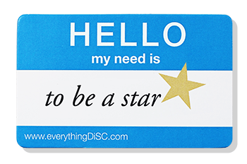 Everything DiSC-STAR- name tag