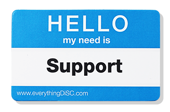 EverythingDiSC-SUPPORT Name Tag