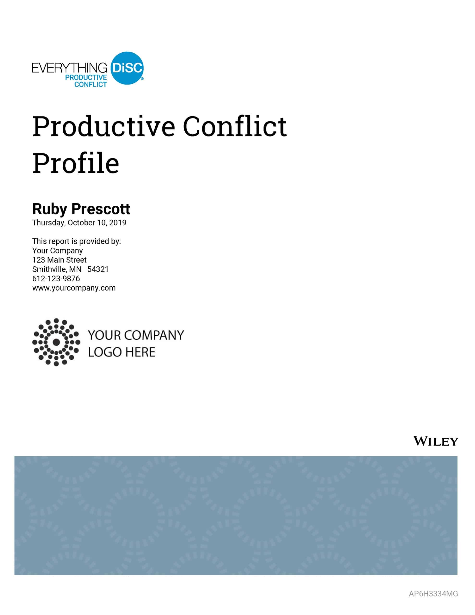 Productive Conflict Sample
