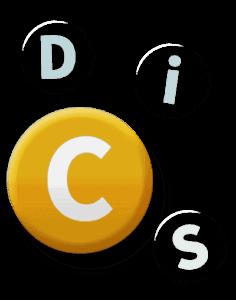 Round C button
