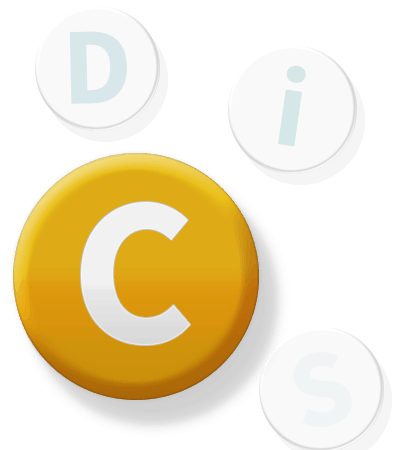 DiSC Button C