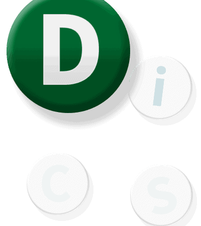 DiSC Button D