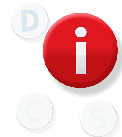 DiSC Button i