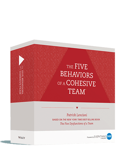 The Five Behaviors of a Cohesive Team - Powered by Everything DiSC - Facilitation Kit