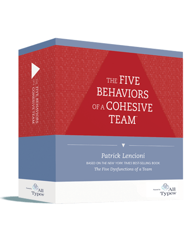 The Five Behaviors of a Cohesive Team - Powered by All Types - Facilitation Kit Box