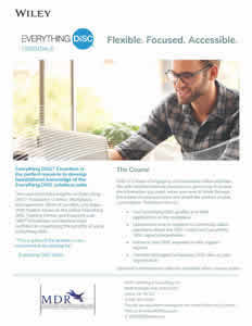 Everything DiSC® Essentials Brochure