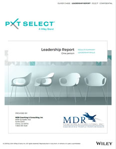 PXT Select Leadership Report (One Person)