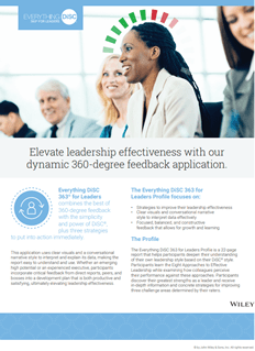 Everything DiSC 363® for Leaders