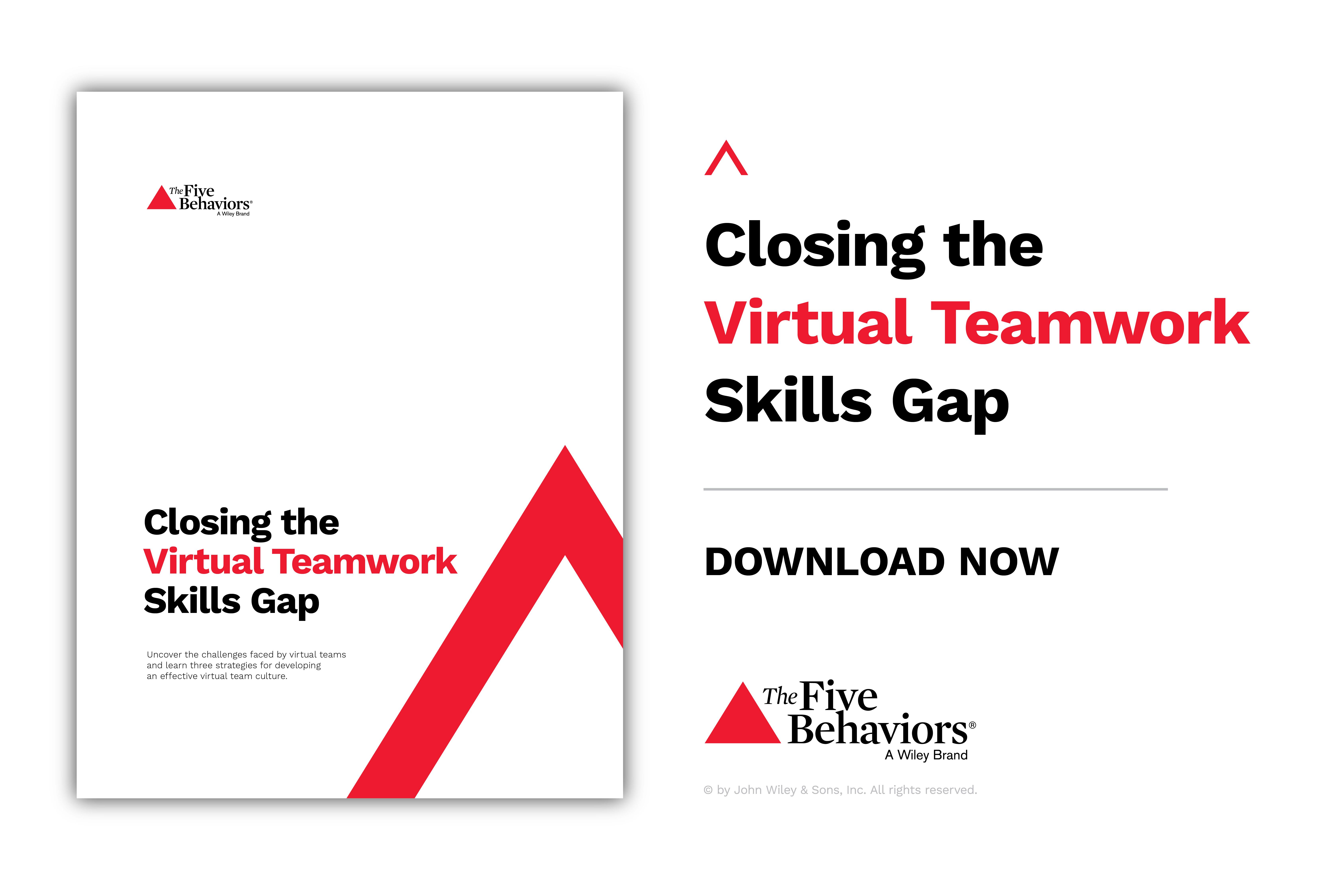 Closing the Virtual Teamwork Skills Gap White Paper